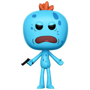 Mr. Meeseeks (Chase Edition): Funko POP! Animation x Rick & Morty Vinyl Figure