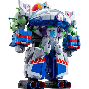 """Buzz the Space Ranger Robo: ~8"""" Tamashii Nations  Toy Story Chogokin Combination Die-Cast Action Figure [07906]"""