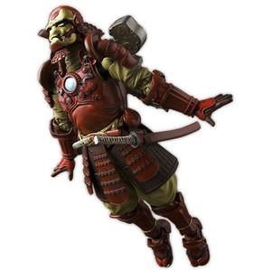 "Samurai Iron Man Mark 3: ~7"" Iron Man x Tamashii Nations 'Mei Sho' Manga Realization Action Figure"