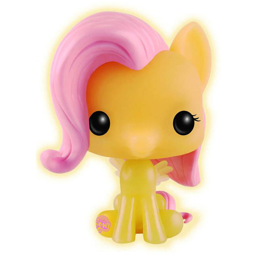 My Little Pony Vinyl Figure Fluttershy Glow in the Dark Exclusive Funko Pop