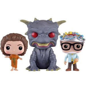 The Gate Keeper, Zuul, The Key Master (3-Figure Pack): Funko POP! Movies x Ghostbusters Vinyl Figure