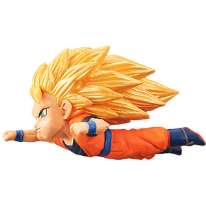 Super Saiyan 3 Son Goku: DragonBall Super x Banpresto WCF ~Anime 30th Anniversary~  Mini Statue Figurine Vol.4 (36970A)