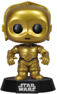 C-3PO: Funko POP! x Star Wars Vinyl Figure