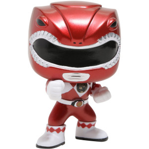 Red Ranger [Metallic] (Hot Topic Exclusive): Funko POP! TV x Power Rangers Vinyl Figure