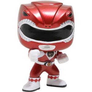 Red Ranger [Metallic] (Hot Topic Exclusive): Funko POP! TV x Power Rangers Vinyl Figure