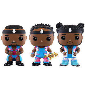 "Big E, Xavier Woods, Kofi Kingston (Toys ""R"" Us Exclusive): Funko POP! WWE x WWE Vinyl Figure [11541]"