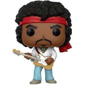 Jimi Hendrix [Woodstock]: Funko POP! Rocks Vinyl Figure