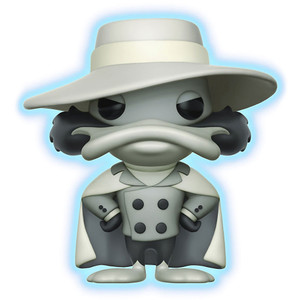 Negatron [Glow-in-Dark] (2017 Summer Con Exclusive): Funko POP! Disney x Darkwing Duck Vinyl Figure [#300]