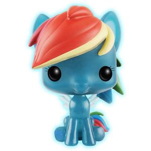 Rainbow Dash [Glow-in-Dark] (Walmart Exclusive): Funko POP! x My Little Pony Vinyl Figure [#004]
