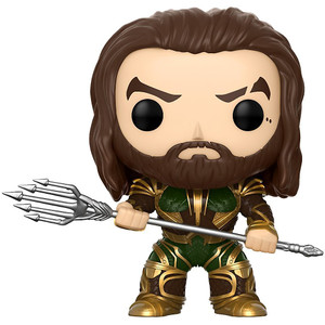 Aquaman: Funko POP! Heroes x Justice League Vinyl Figure [#205]