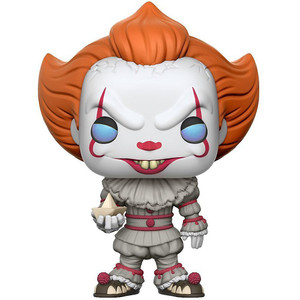 Pennywise [w/ Boat]: Funko POP! Movies x It Vinyl Figure [#472]