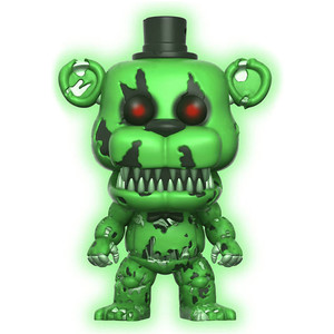 Nightmare Freddy [Glow-in-Dark] (Walmart Exclusive): Funko POP! Games x Five Nights at Freddy's Vinyl Figure [#111]
