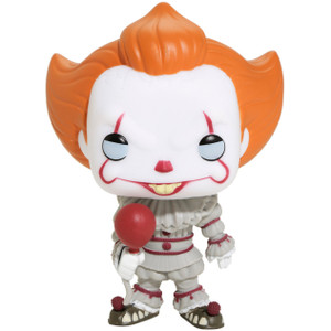 Pennywise [w/ Balloon] (Hot Topic Exclusive): Funko POP! Movies x It Vinyl Figure [#475]
