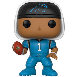 "Cam Newton [Panthers Color Rush] (Toys ""R"" Us Exclusive): Funko POP! Football x NFL Vinyl Figure [#046 / 21000]"
