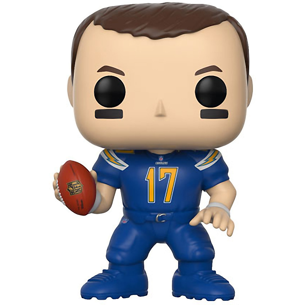 save off 2099f 0b911 Philip Rivers [Chargers Color Rush] (Toys