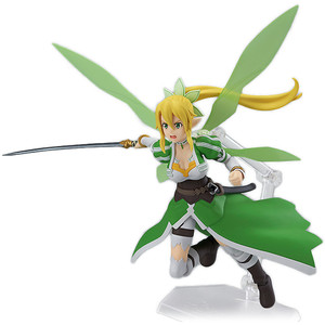 "Leafa: ~5.3"" Sword Art Online II x Max Factory figma Action Figure (314)"