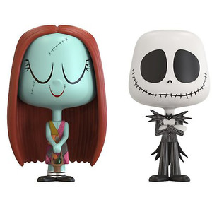 Jack Skellington & Sally: Funko Vynl. x The Nightmares Before Christmas Vinyl Figure Set