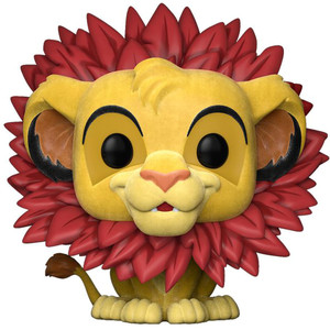 Simba - Flocked (EE Exclusive): Funko POP! Disney x Lion King Vinyl Figure [#302]