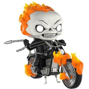 Ghost Rider w/ Bike (PX Exclusive): POP! Marvel x Marvel Universe Vinyl Figure [#033]