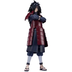 """Madara Uchiha: ~6.1"""" Tamashii Nations  Naruto Shippuden S.H. Figuarts Action Figure [17565]"""