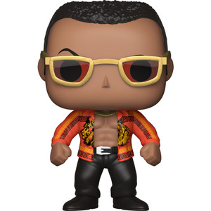 The Rock - Old School: Funko POP! WWE x WWE Vinyl Figure [#046]