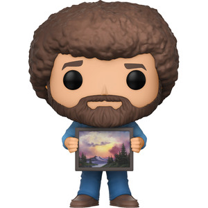 Bob Ross & Raccoon: Funko POP! TV x The Joy of Painting Vinyl Figure [#558]