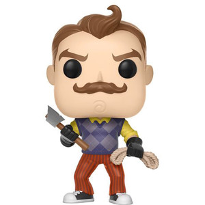 The Neighbor w/ Axe & Rope (GameStop Exclusive): Funko POP! Games x Hello Neighbor Vinyl Figure [#262]