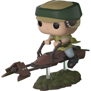 Princess Leia w/ Speeder Bike: Funko POP! x Star Wars - Return of the Jedi Vinyl Figure [#228]