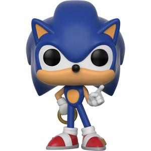 Sonic w/ Ring: Funko POP! Games x Sonic the Hedgehog Vinyl Figure [#283]