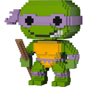 Donatello: Funko POP! 8-bit x Teenage Mutant Ninja Turtles Vinyl Figure [#005]