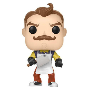 The Neighbor w/ Apron & Cleaner (f.y.e. Exclusive): Funko POP! Games x Hello Neighbor Vinyl Figure [#265]