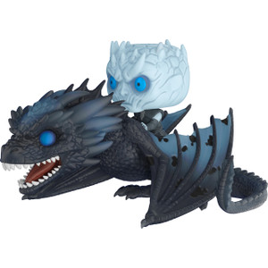 Night King w/ Icy Viserion: POP! Rides x Game of Thrones Vinyl Figure [#058]