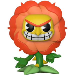 Cagney Carnation (2018 Spring Con Exclusive): Funko POP! Games x Cuphead Figure [#331]