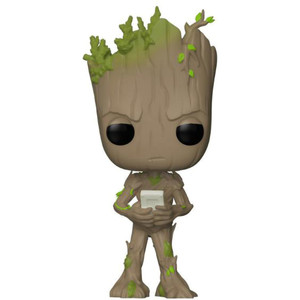 "Groot (Toys ""R"" Us Exclusive): Funko POP! Marvel x Avengers - Infinity War Vinyl Figure [#297 / 26470]"