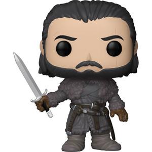 Jon Snow [Beyond the Wall]: Funko POP! x Game of Thrones Vinyl Figure [#061 / 29166]