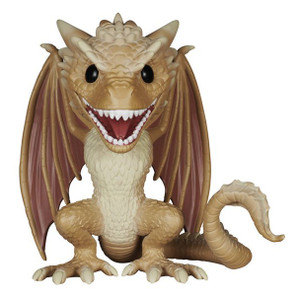 "Viserion: ~6"" Funko Deluxe POP! x Game of Thrones Vinyl Figure"
