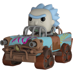Mad Max  Rick: POP! Rides x Rick & Morty Vinyl Figure [#037 / 28456]