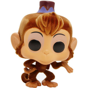 Abu [Flocked] (Hot Topic Exclusive): Funko POP! Disney x Aladdin Vinyl Figure [#353 / 24925]