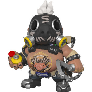 "Roadhog: ~6"" Funko Deluxe Deluxe POP! Games x Overwatch Vinyl Figure [#309 / 29046]"