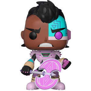 "Cyborg [Glow-in-Dark] (Toys ""R"" Us Exclusive): Funko POP! TV x Teen Titans Go Vinyl Figure [#609 / 28681]"