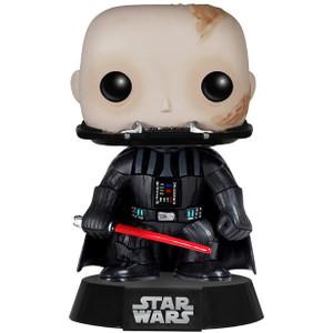 Unmasked Vader: Funko POP! x Star Wars Vinyl Figure