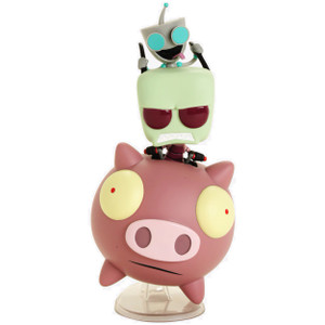 Zim & Gir on The Pig (Hot Topic Exclusive): POP! Rides x Nickelodeon Invader Zim Vinyl Figure [#041 / 27891]