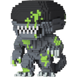 Xenomorph (PX Exclusive): Funko POP! 8-bit Horror x Alien Vinyl Figure [#027 / 6509]
