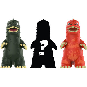 Godzilla: Funko Mystery Minis x Godzilla 3-Mini Vinyl Figure Pack [23361]
