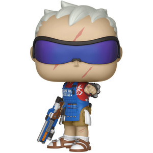 Soldier: 76 (2018 Summer Con Exclusive): Funko POP! Games x Overwatch Vinyl Figure [#346 / 30894]