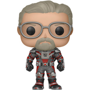 Hank Pym Unmasked (Hot Topic Exclusive): Funko POP! Marvel x Ant-Man and the Wasp Vinyl Figure [#346 / 30801]