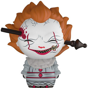 Pennywise w/ Wrought Iron: Funko Dorbz x It Vinyl Figure [#474 / 32347]