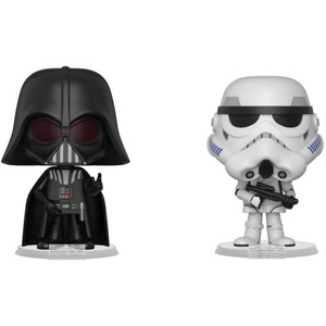 Darth Vader & Stormtrooper: Funko Vynl. x Star Wars Vinyl Figure Set [31616]