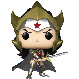 Wonder Woman from Flashpoint (Hot Topic Exclusive): Funko POP! Heroes x DC Universe Vinyl Figure [#238 / 31664]