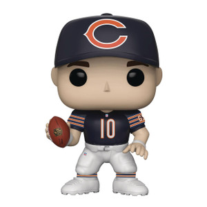 Mitch Trubiskv [Chicago Bears]: Funko POP! Football x NFL Vinyl Figure [#106 / 31776]
